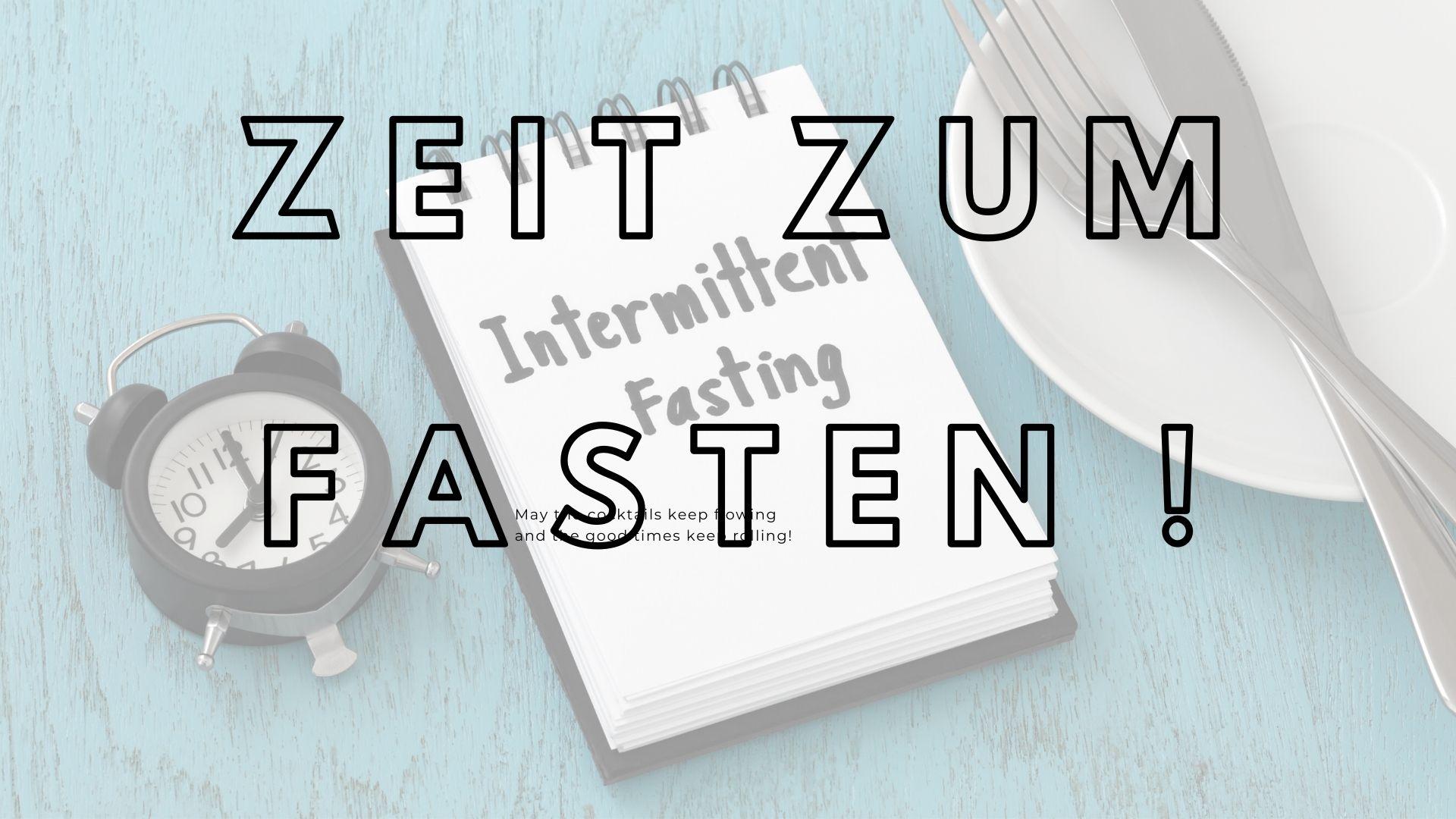 Zeit zum Fasten - Intervallfasten - Willkommen auf Ihrem Gesundheits-Update!