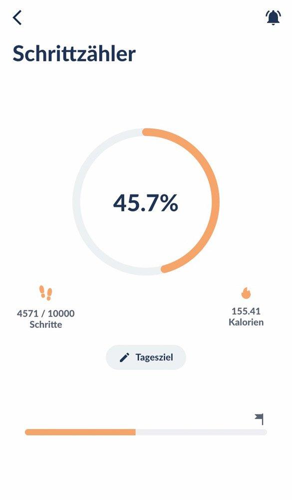 Intervallfasten-App-Testbericht, Screenshot 3 Fastic