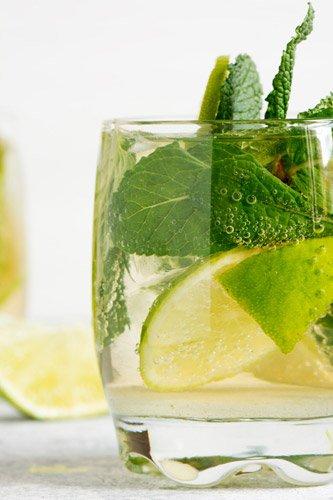 intervallfasten aqua mojito - Trinken beim Intervallfasten
