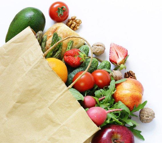 intervallfasten frisches obst und gemuese - Wochenplan Intervallfasten